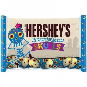 Hershey cookie n cream skulls