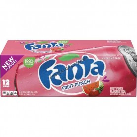 Fanta fruit punch X12