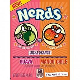 Wonka nerds mini bonbons goyave mangue épicé