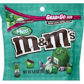 m&m's grab and go Dark mint - 141.8 Gr