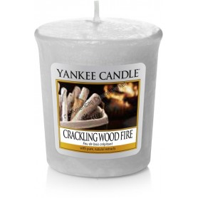 Votive crackling wood fire