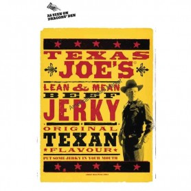 Texas joe beef jerky original 25g