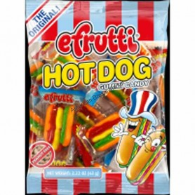 Efrutti mini hot dog bag