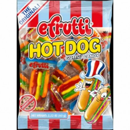 Efrutti mini hot dog bag