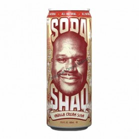 Arizona soda shaq vanilla cream