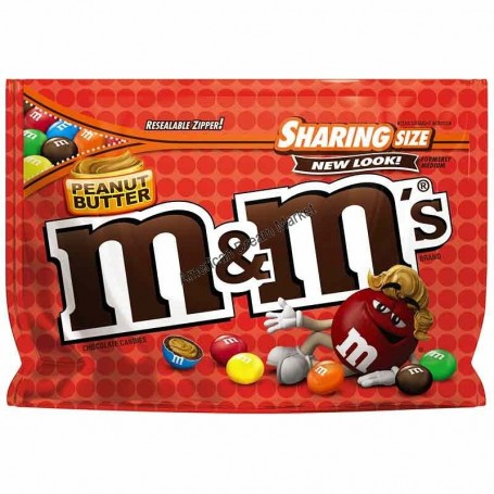 m&m's Peanut butter share size pouch -272.2G