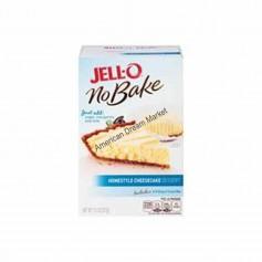 Jell-O no bake homestyle cheesecake