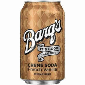 Barq's creme soda french vanilla