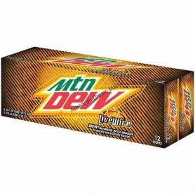 Mountain dew live wire orange X12