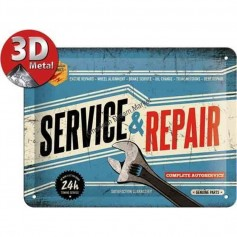 Plaque service en repair 3D