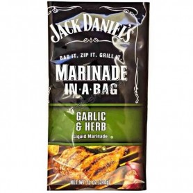 Jack daniel's marinade in a bag garlic and herb