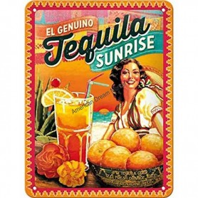 Plaque tequila sunrise 3D