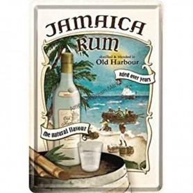 Plaque jamaica rum 3D