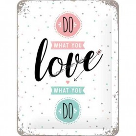 Plaque do what you love 3D
