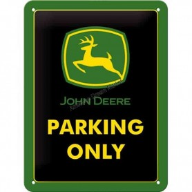 Plaque john deere parking 3D