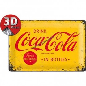 Plaque drink coca cola 3D MM