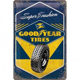 Plaque goodyear tires 3D MM