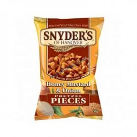 Snyder's of hanover pretzel pieces honey mustard and onion mini