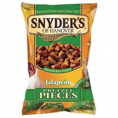 Snyder's of hanover pretzel pieces jalapeno mini