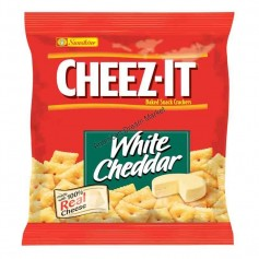 Cheez it white cheddar crackers PM