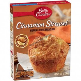 Betty Crocker cinnamon streusel mix