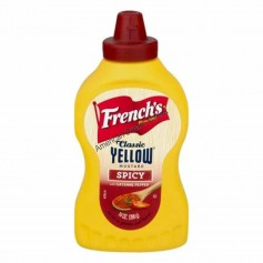 French's classic yellow mustard spicy