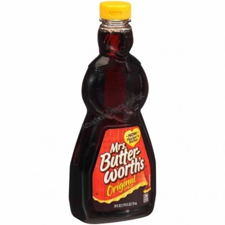 Mrs butterworth's syrup pancakes