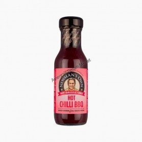 Newman's own hot chili BBQ sauce