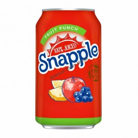 Snapple fruit punch can
