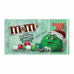 M&m's holiday mint share size