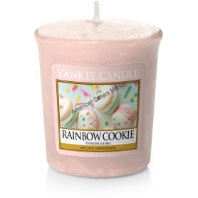 Votive rainbow cookie