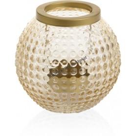 Photophore lanterne pour lumignon pastel romance