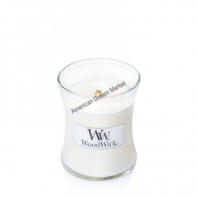 WoodWick hourglass petite linen