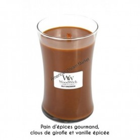WoodWick hourglass grande jolly gingerbread
