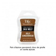 WoodWick cire jolly gingerbread
