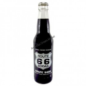 Route 66 soda grape