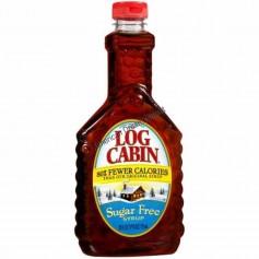 Log cabin syrup pancakes sugar free