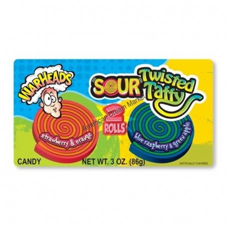 Warheads sour twisted taffy