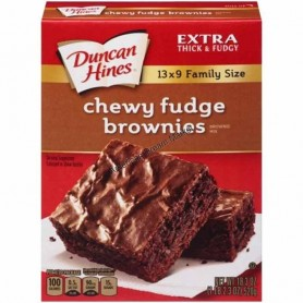 Duncan hines chawy fudge brownies