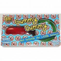 Giant gummy dummy
