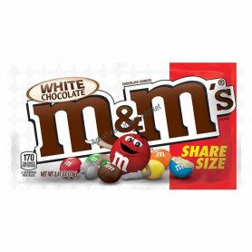 M&m's white chocolate share size - 70 Gr