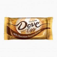 Dove egg milk chocolate peanut butter