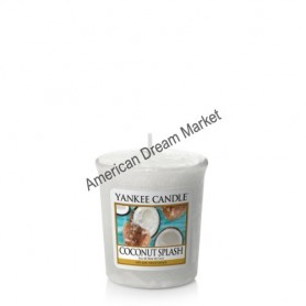 Votive coconut splash