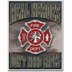 Real heroes firemen