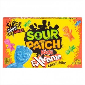 Sour patch extreme sour boite