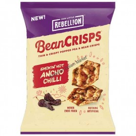 Rebellion bean crisps ancho chilli