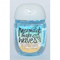 Gel mermaids make waves