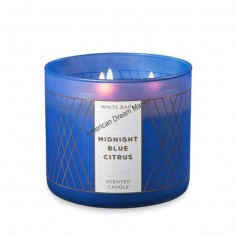 BBW bougie midnight blue citrus