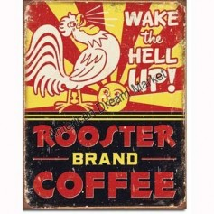 Rooster brand coffee