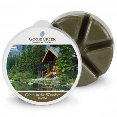 GC cire cabin in the woods